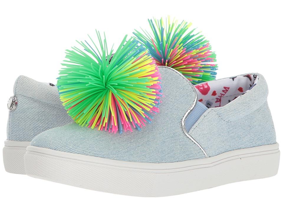 Steve Madden Kids Jgillsp (Little Kid/Big Kid) (Denim) Girls Shoes
