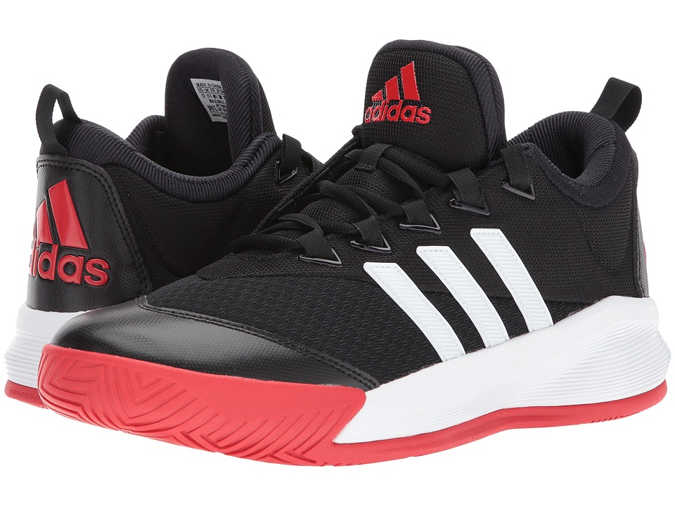 adidas - Crazylight 2.5 Active (Black/White/Scarlet) Men's Shoes