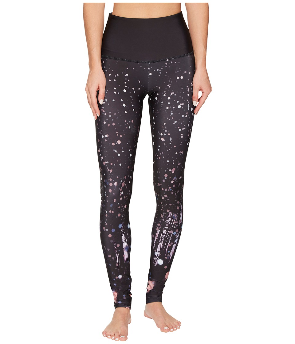Onzie High Rise Graphic Leggings (Firefly) Women's Casual Pants