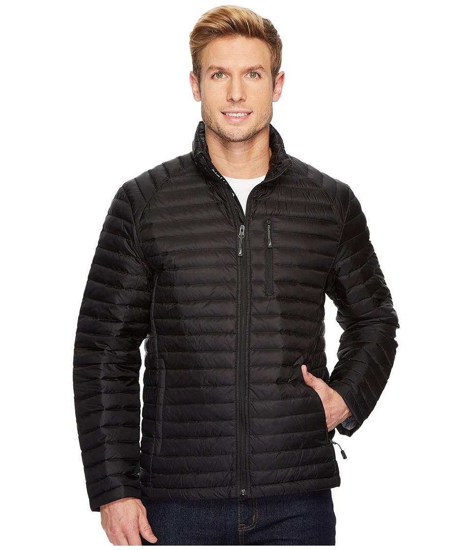Nautica - Lightweight Down Packable (Black) Men's Coat