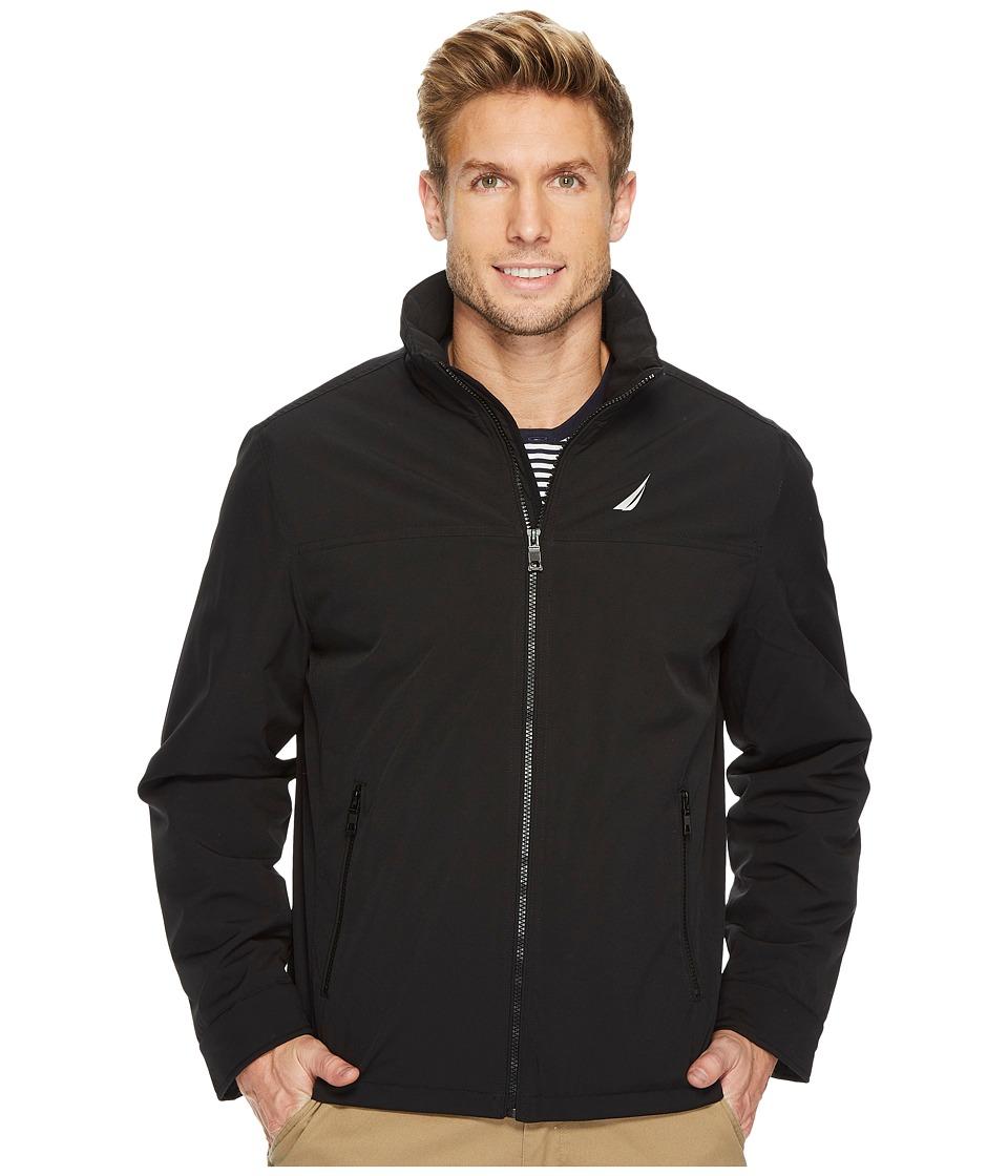 Nautica - Lightweight Golf Jacket (Black) Men's Coat