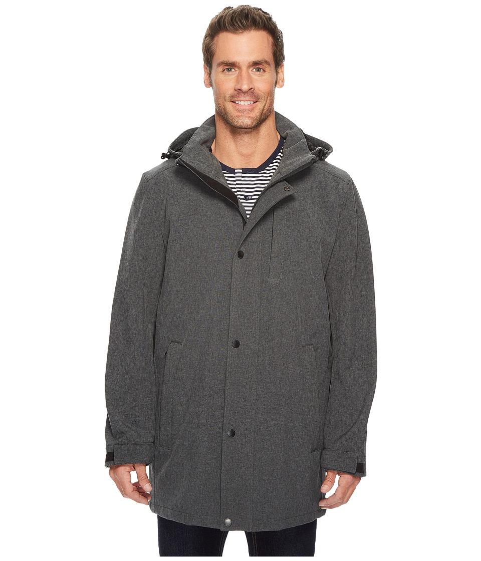 Nautica - Commuter Softshell (Heather Grey) Men's Coat