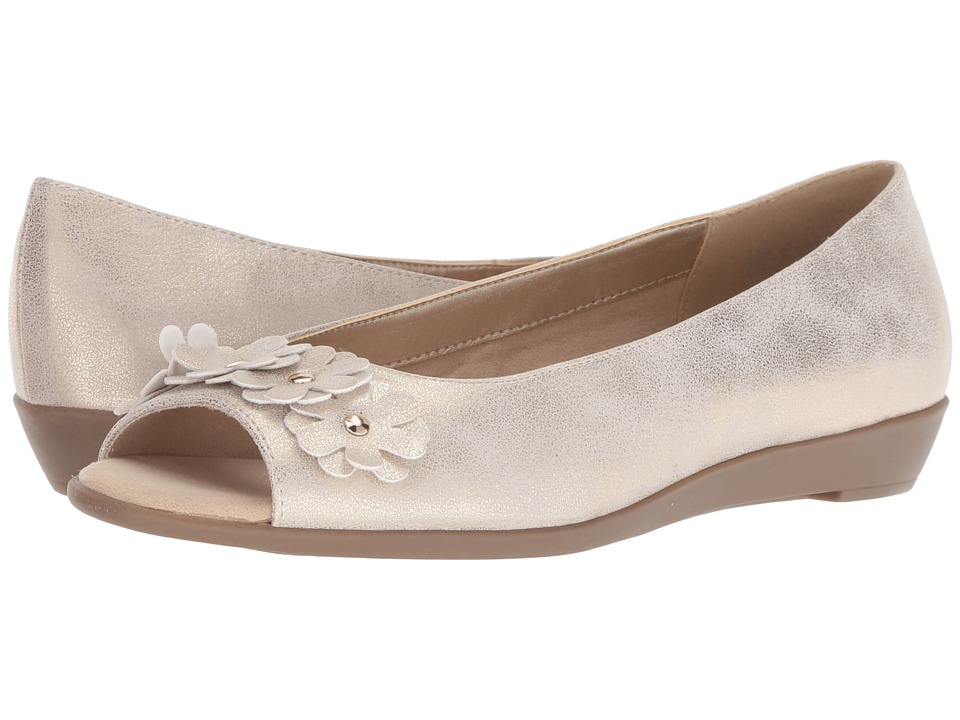 A2 by Aerosoles At Long Last (Gold Metallic) Women