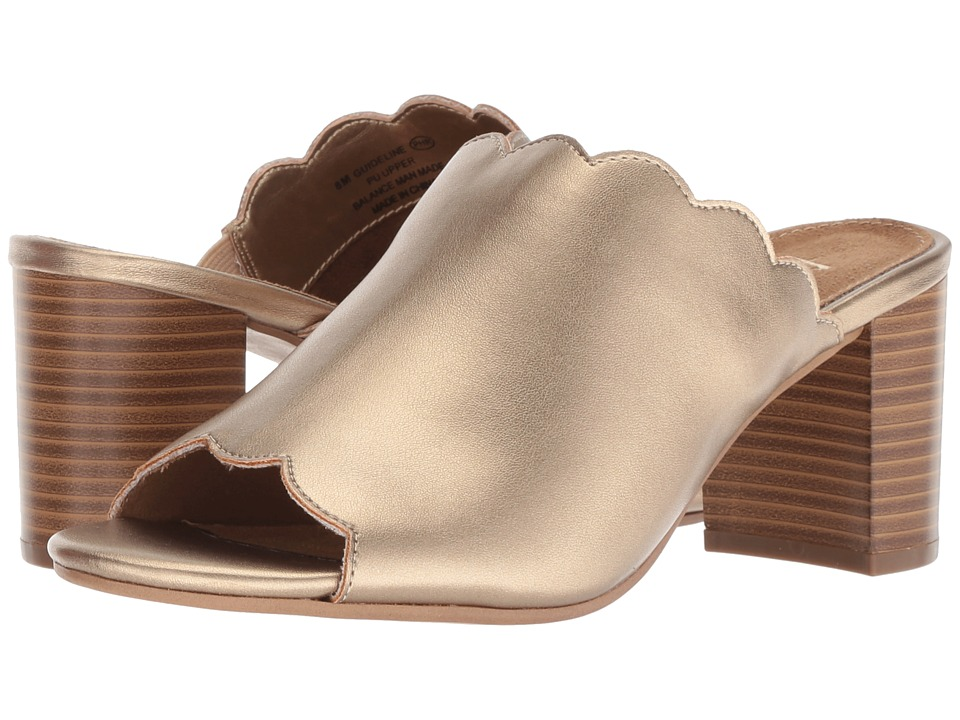 A2 by Aerosoles Guideline (Gold Metallic) Women