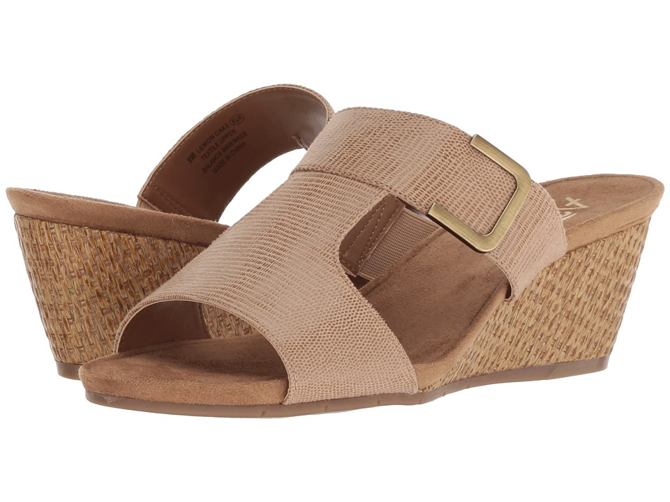 A2 by Aerosoles Lemon Cake (Tan Snake) Women