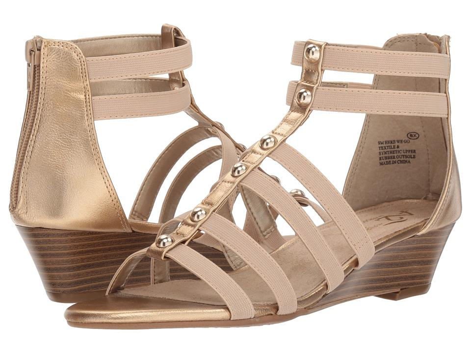 A2 by Aerosoles Here We Go (Gold Combo) Women