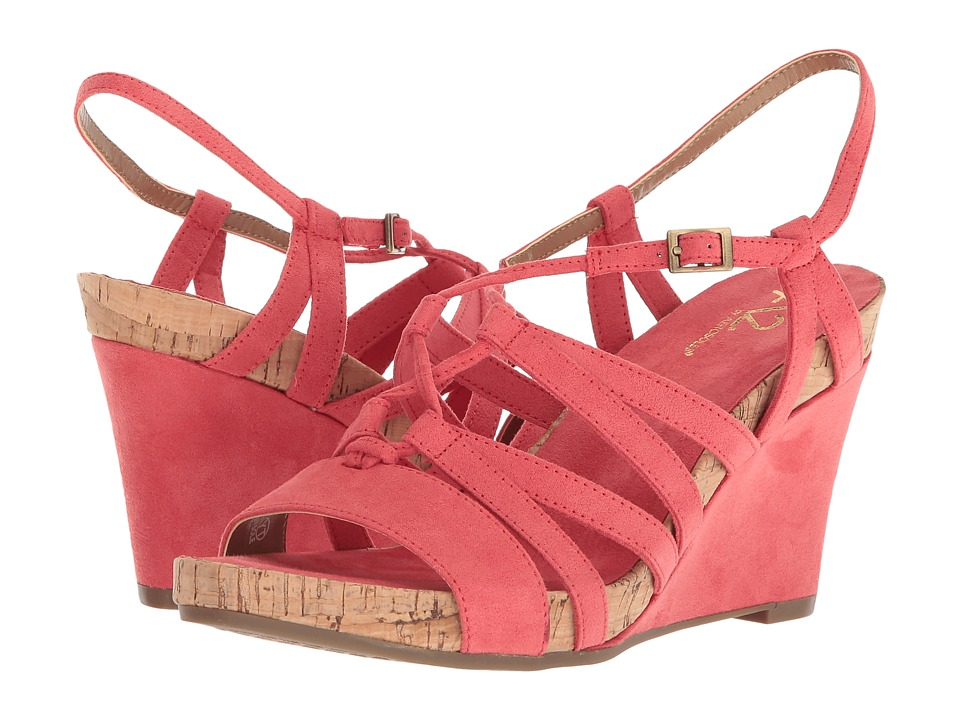 A2 by Aerosoles Poppy Plush (Coral) Women