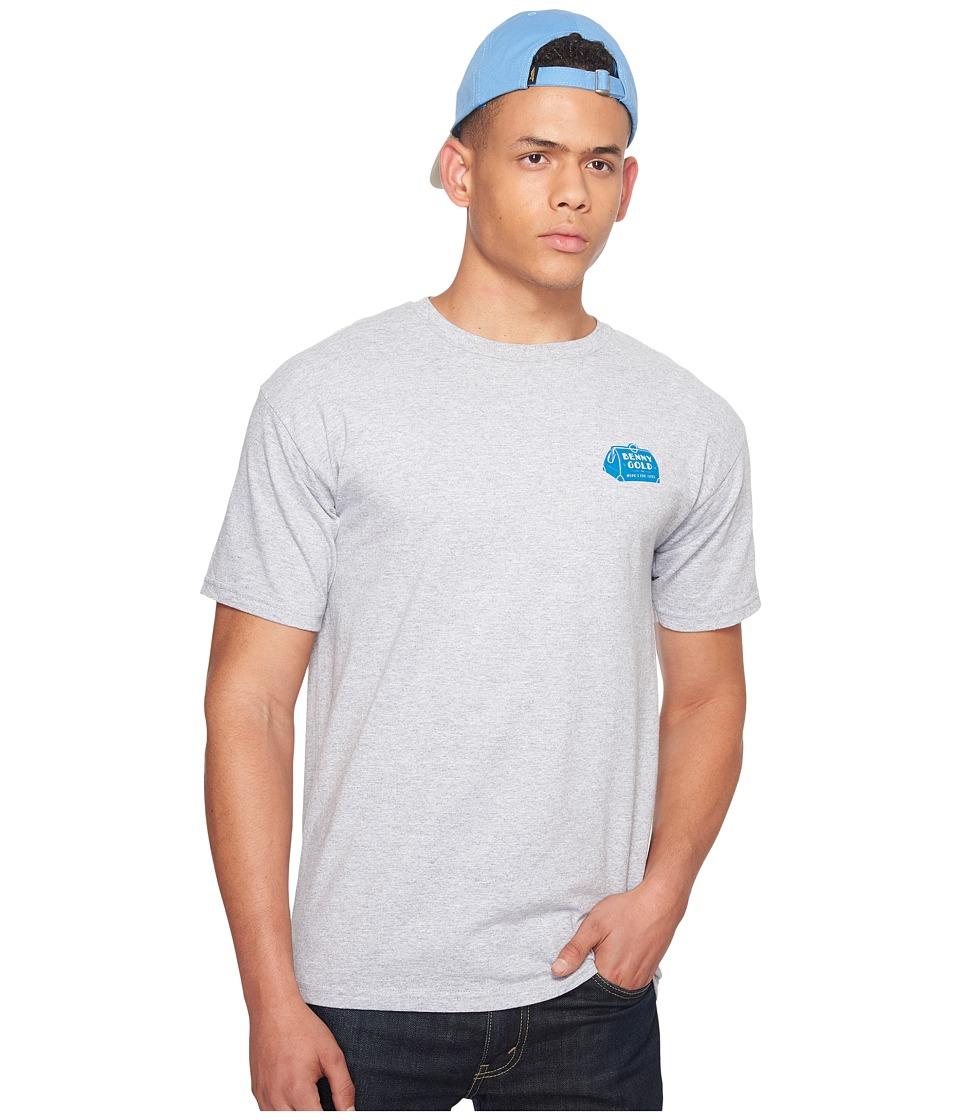 Image of Benny Gold - Grand Hotel T-Shirt (Heather Grey) Men's T Shirt