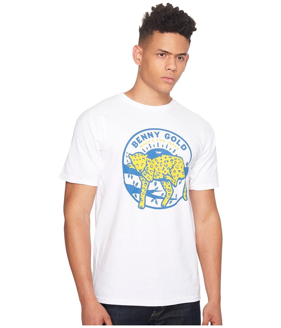 Image of Benny Gold - Leopard T-Shirt (White) Men's T Shirt