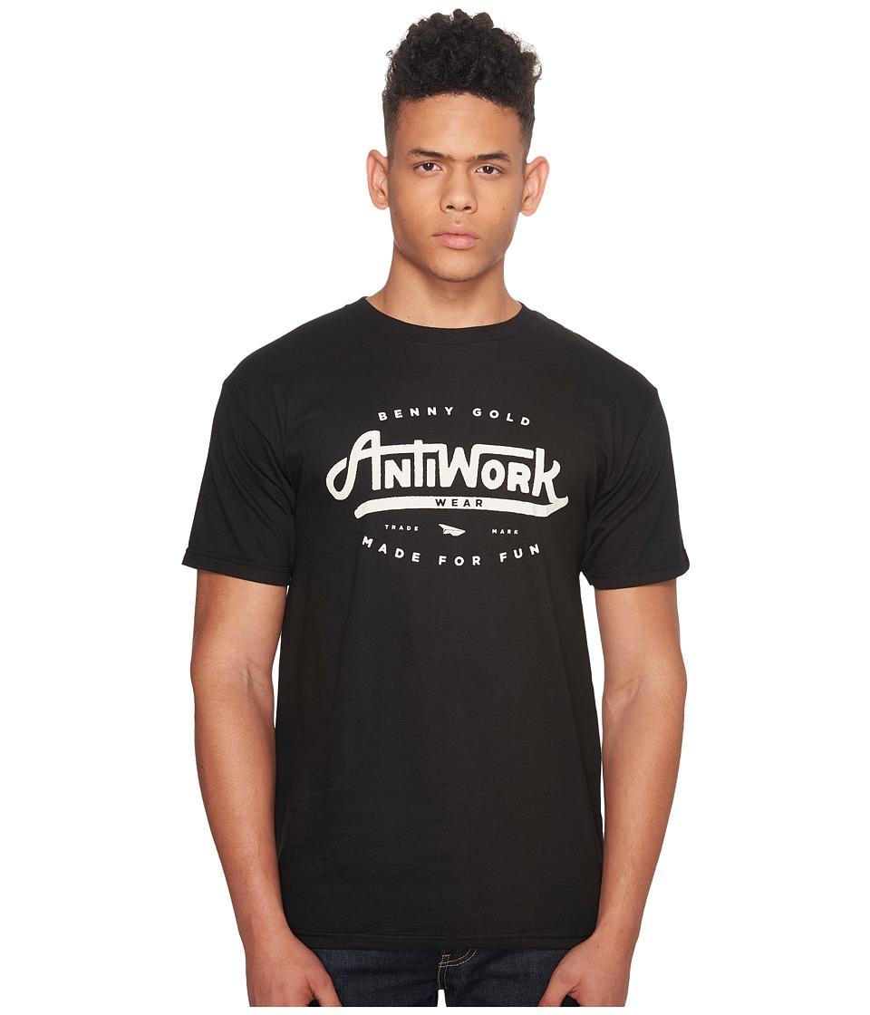 Image of Benny Gold - Anti-Work Wear T-Shirt (Black) Men's T Shirt