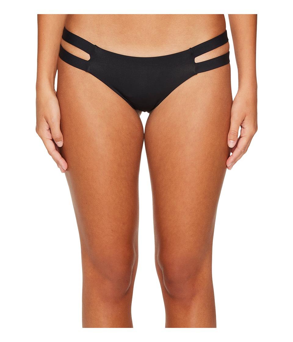 Tavik Chloe Moderate Bikini Bottom (Black) Women