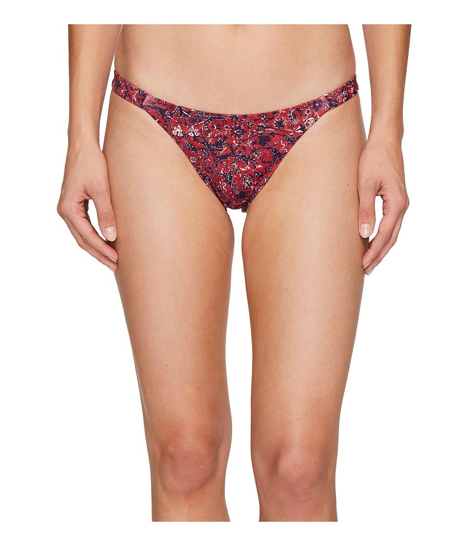 Tavik - Heather Bikini Bottom (Lap of Luxury Red) Women's Swimwear