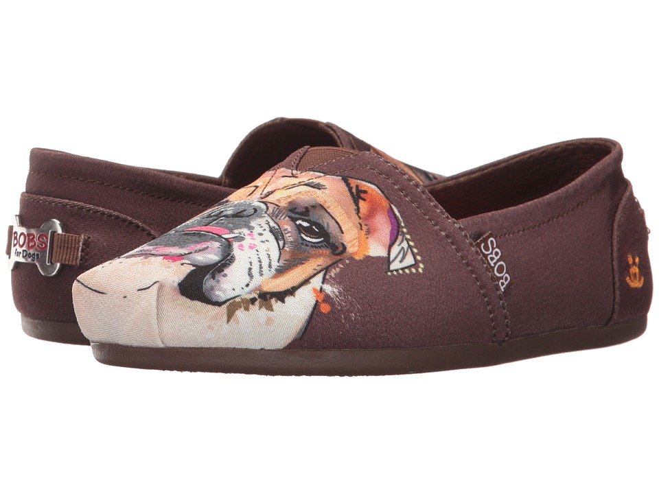BOBS from SKECHERS Bobs Plush Paw-fection (Brown) Women
