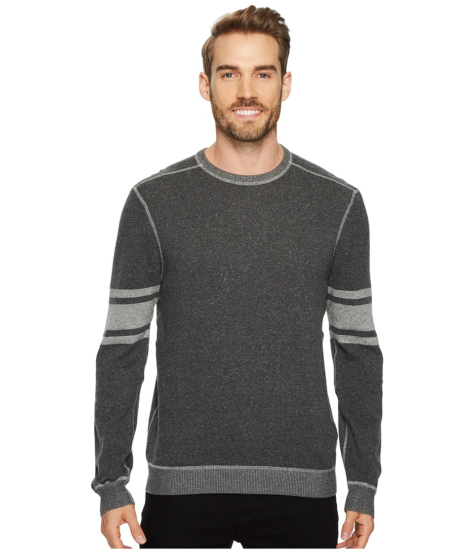 Agave Denim Spin Out Long Sleeve Crew 12GG Neps (Charcoal) Men