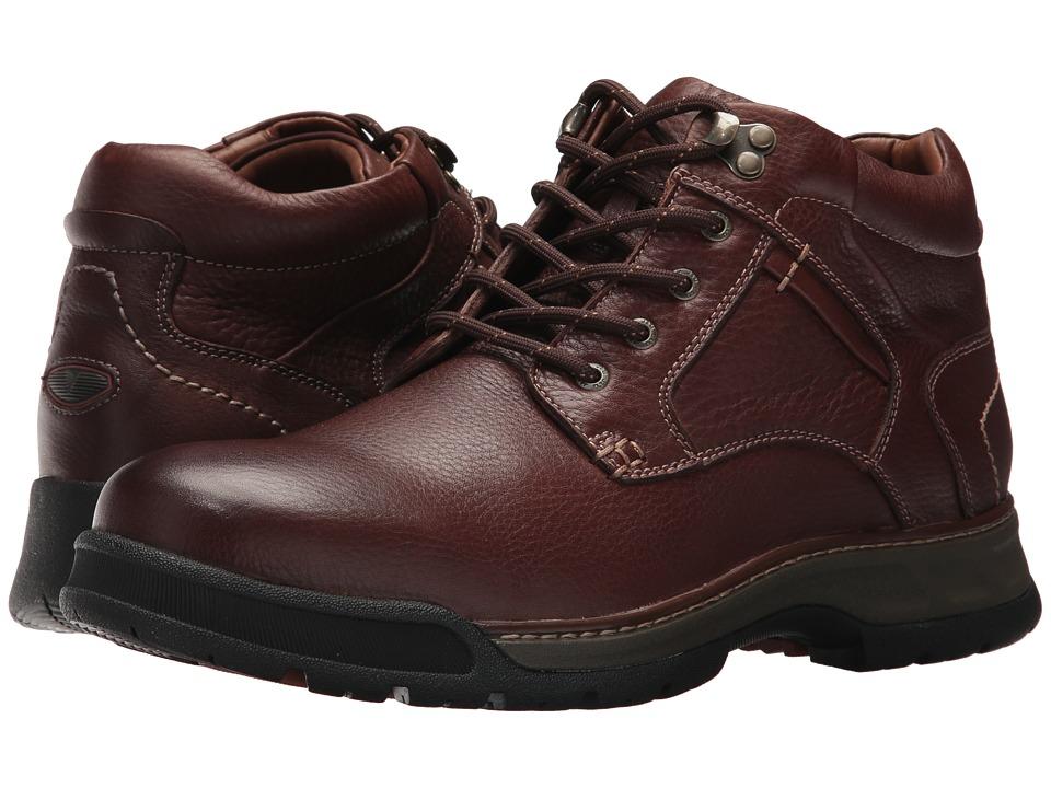 Johnston & Murphy - Thompson Plain Toe Boot (Mahogany) Men's Dress Boots