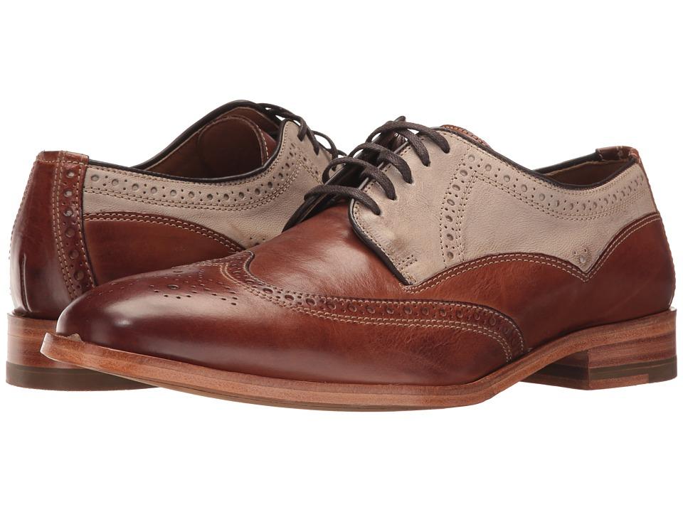 Johnston & Murphy - Graham Wingtip (Tan) Men's Shoes