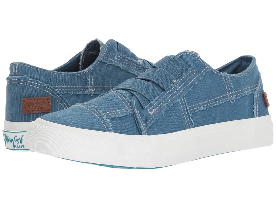 Blowfish Marley (Sky Blue Antique Smoked Canvas) Women