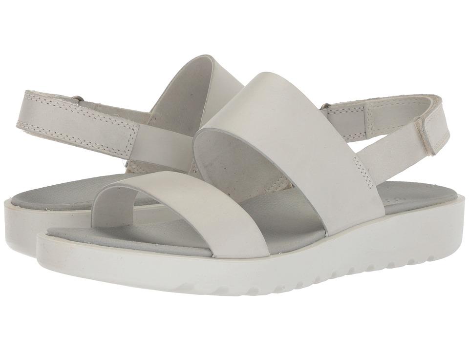 ECCO Freja Classic Sandal (Shadow White) Women