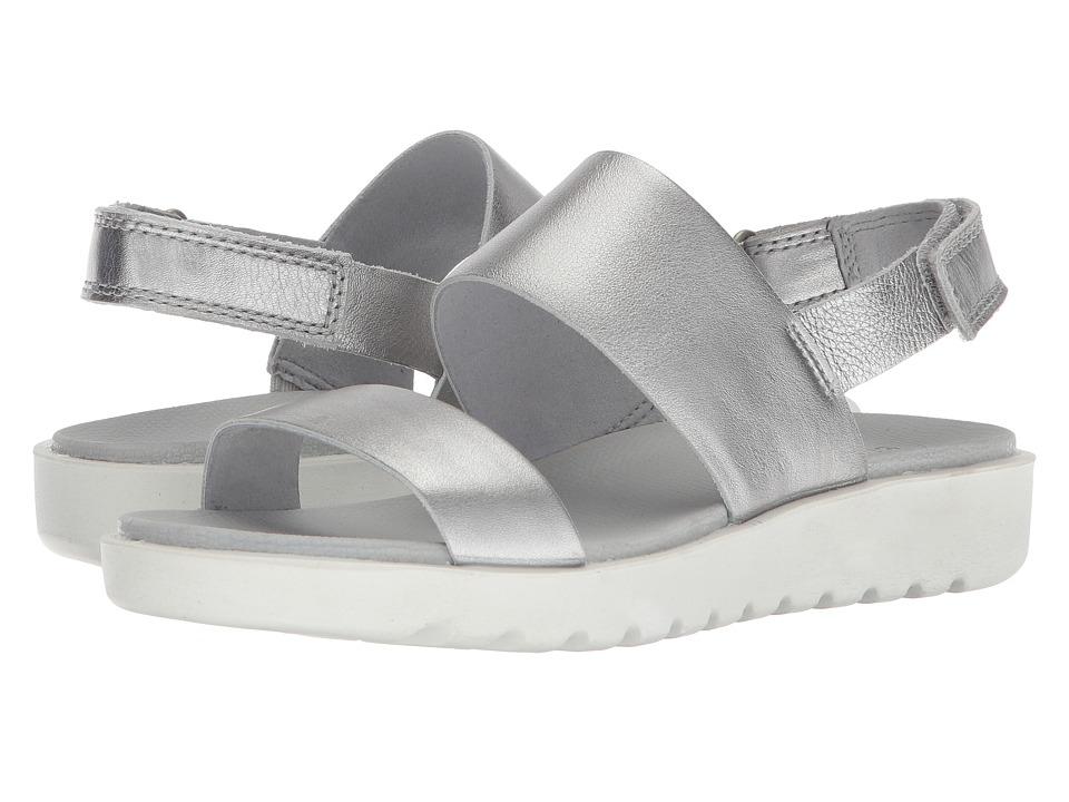 ECCO Freja Classic Sandal (Silver) Women