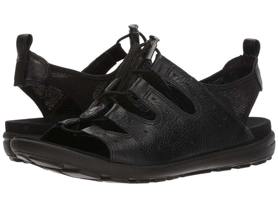 ECCO Jab Toggle Sandal (Black) Women
