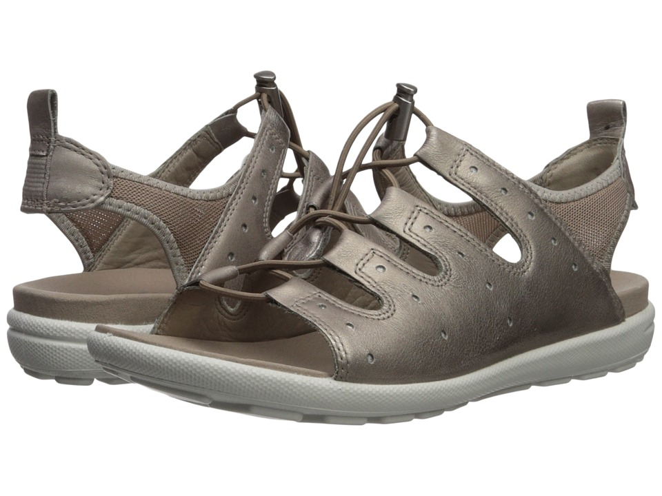 ECCO Jab Toggle Sandal (Moon Rock) Women