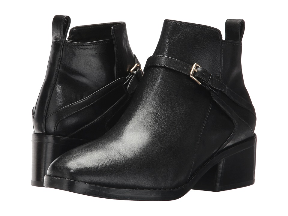 Cole Haan Etta Bootie II (Black Leather) Women