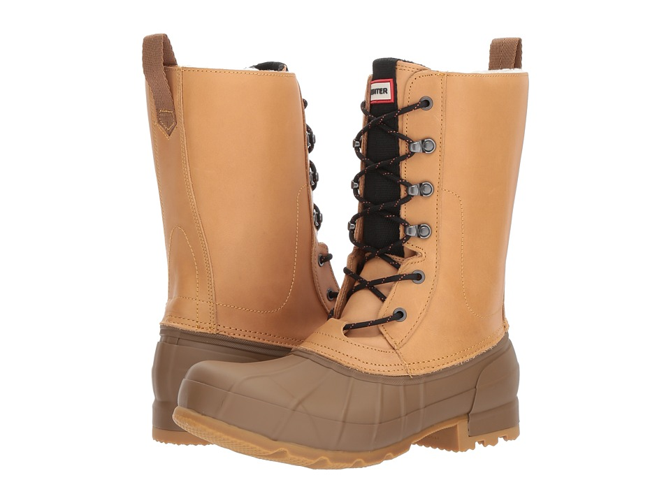Hunter Original Insulated Pac Boot (Pluto/Light Khaki/Brown) Men