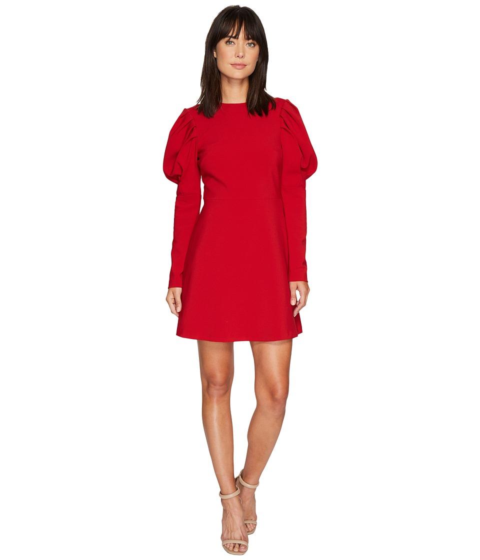 Nicole Miller Karli Bold Shoulder Dress