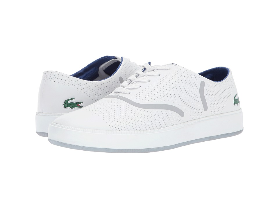 Lacoste - Rene Evo 117 1 SPM (Light Grey) Men's Shoes