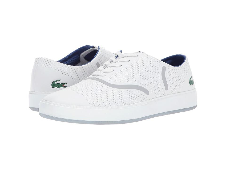 Lacoste - Rene Evo 117 1 SPM (Light Grey) Men's Shoes