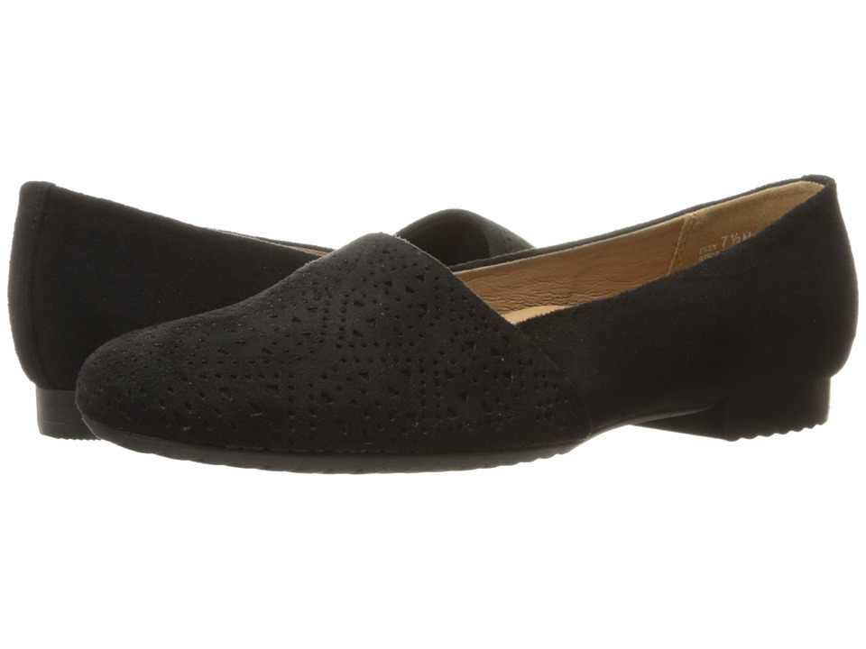 Bare Traps - Evey (Black Microfiber) Women's Shoes