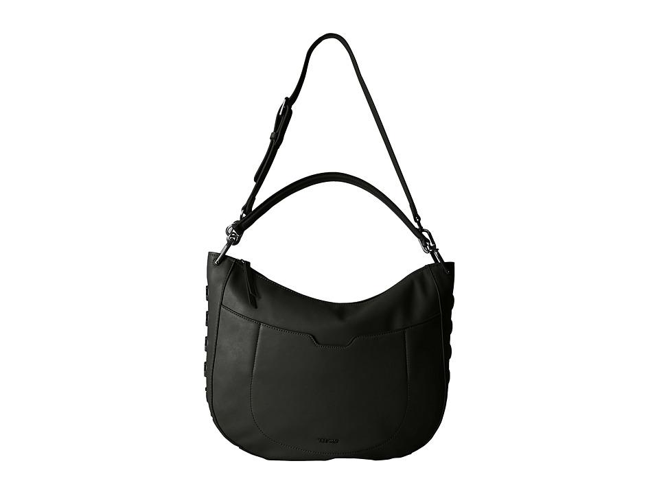 Nine West - Sypress (Black/Black) Hobo Handbags