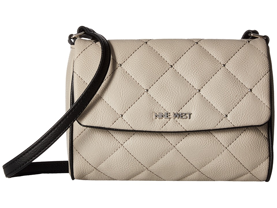 Nine West - Stud Time (Dove/Black) Bags