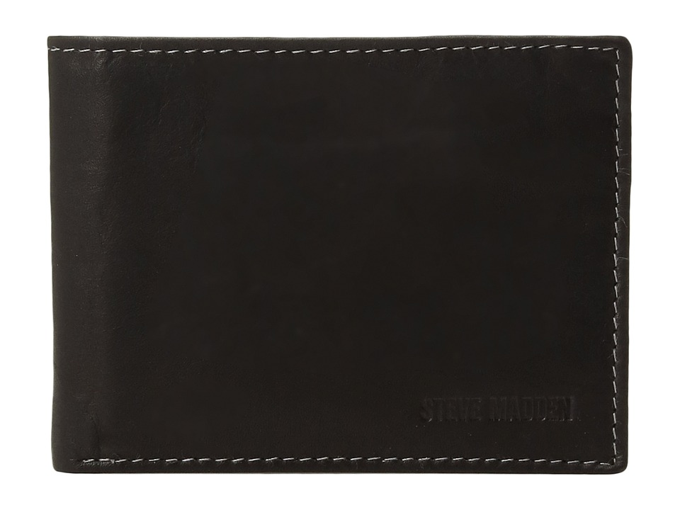 Steve Madden - Two-Tone Passcase (Black 1) Bags