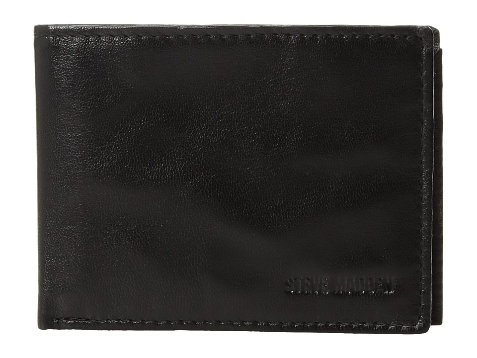 Steve Madden - Smooth Passcase (Black 1) Bags