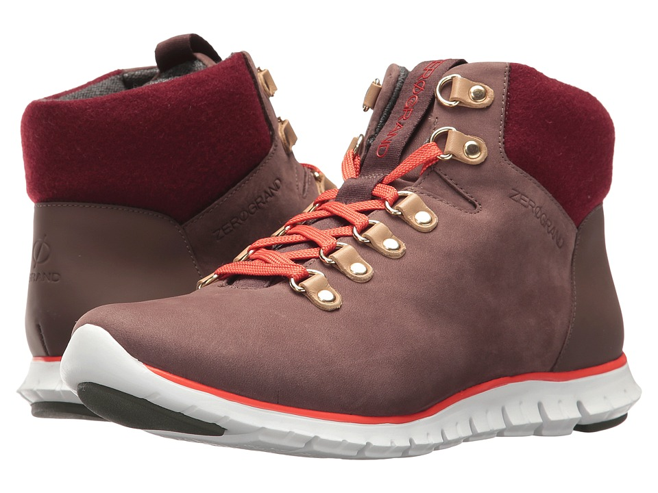 Cole Haan - Zerogrand Hiker Boot (Chestnut/Orange) Women's Shoes