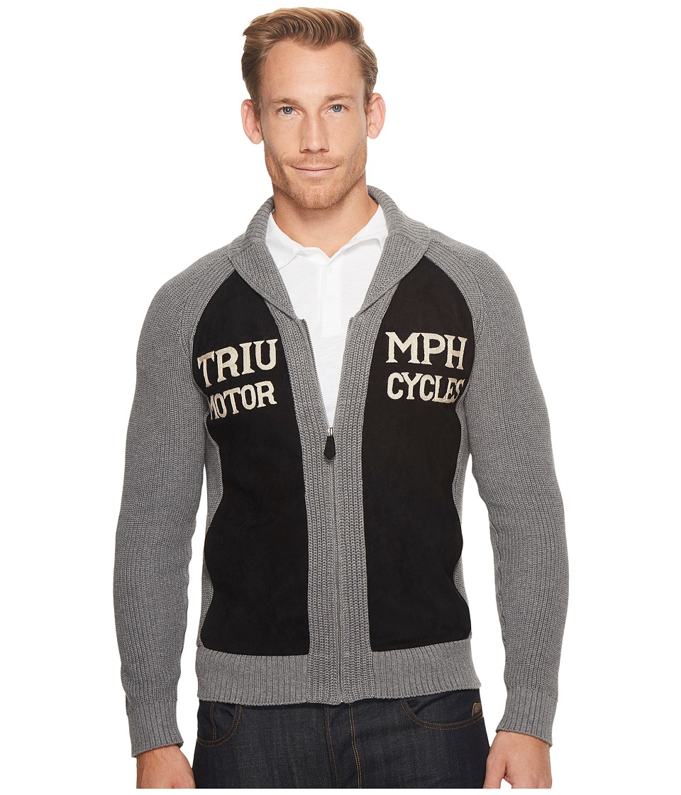 Lucky Brand Triumph Shawl Cardigan Sweater (Multi) Men