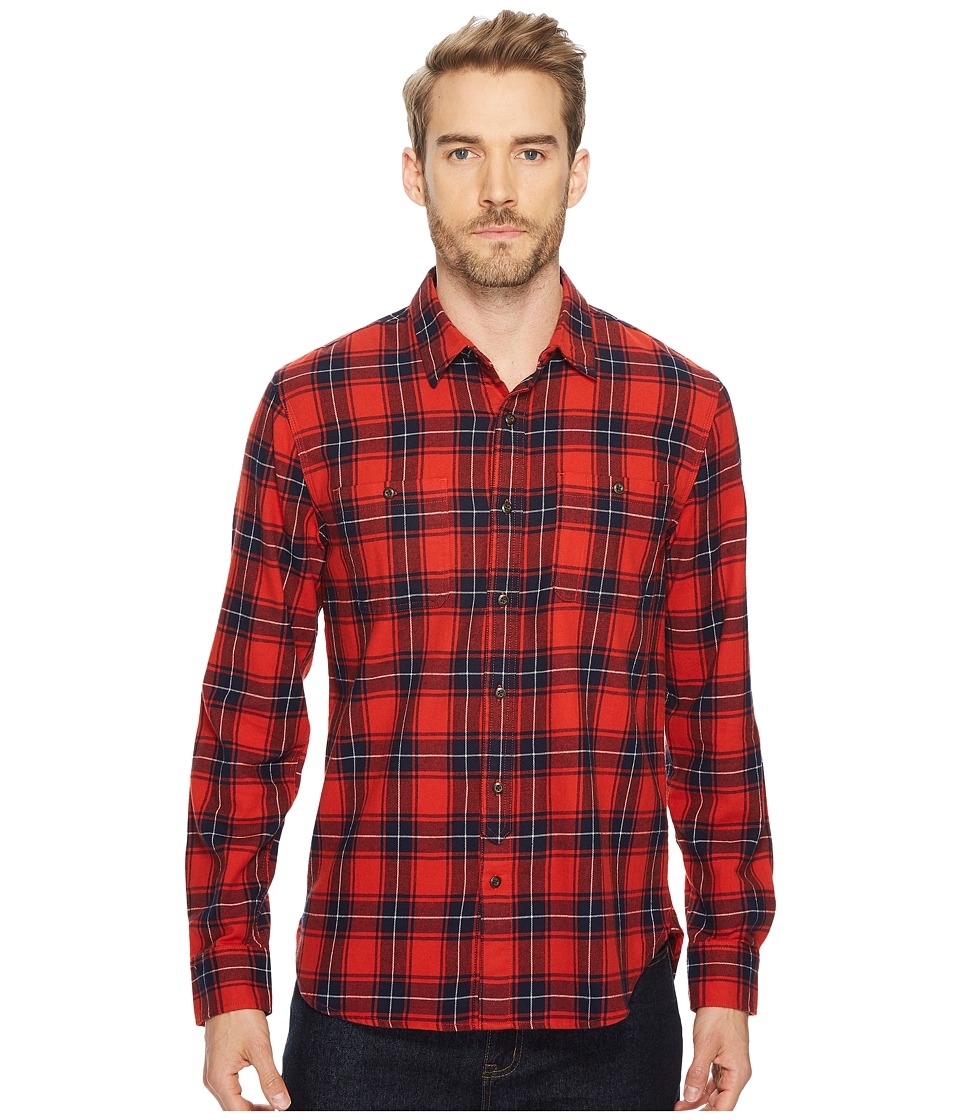 Lucky Brand Mason Workwear Shirt (Red Multi) Men