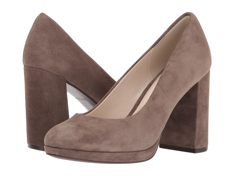 Cole Haan - Renner Grand Pump 95mm II (Morel Suede/Leather) Women's Shoes