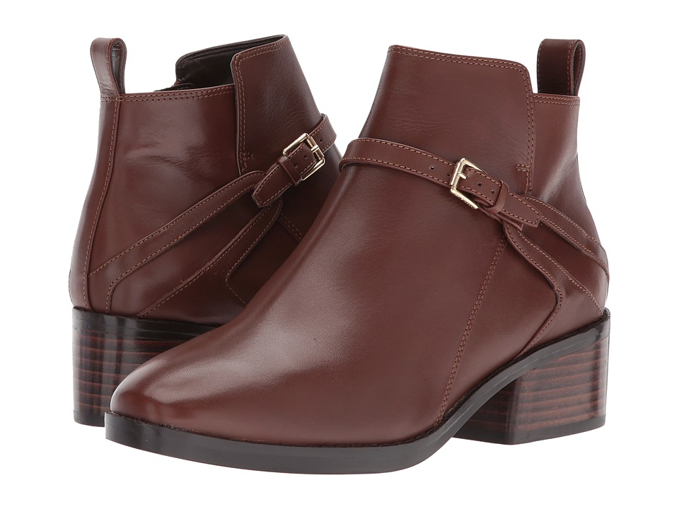 Cole Haan Etta Bootie II (Harvest Brown Leather) Women