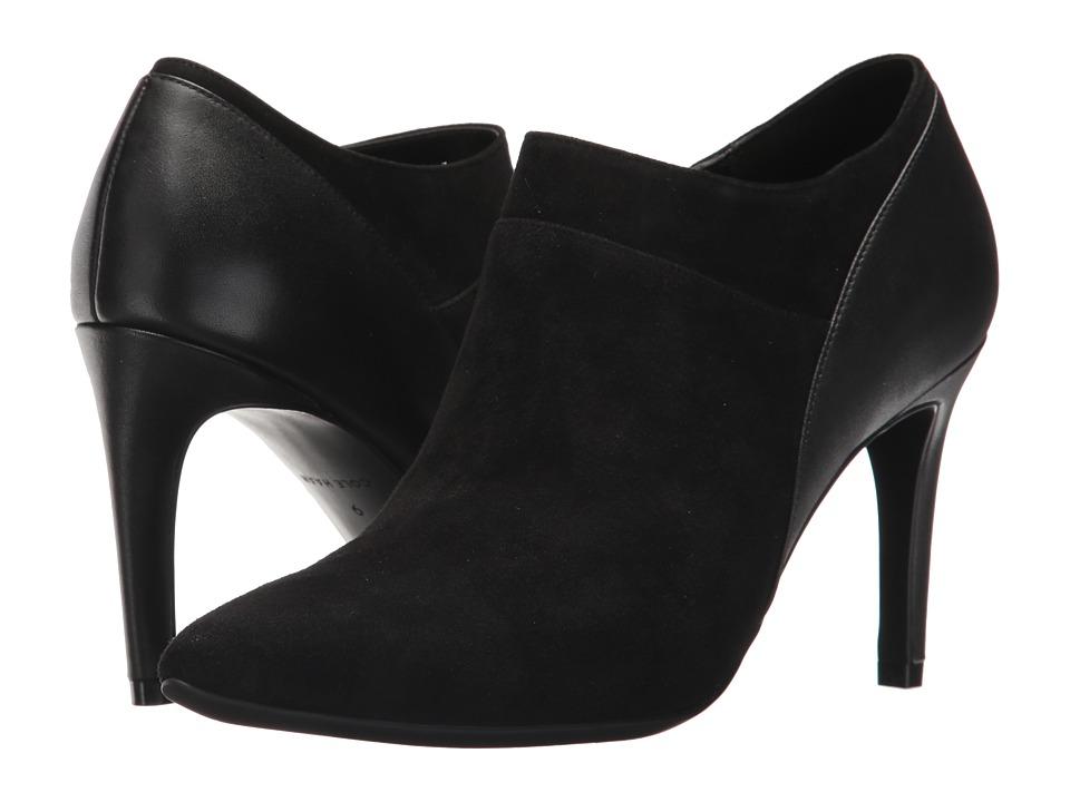 Cole Haan Lattimore Shootie II (Black Suede/Black Leather) Women