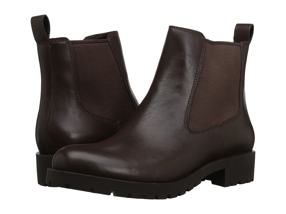 Cole Haan Jannie Bootie WP II (Chestnut WP Leather) Women