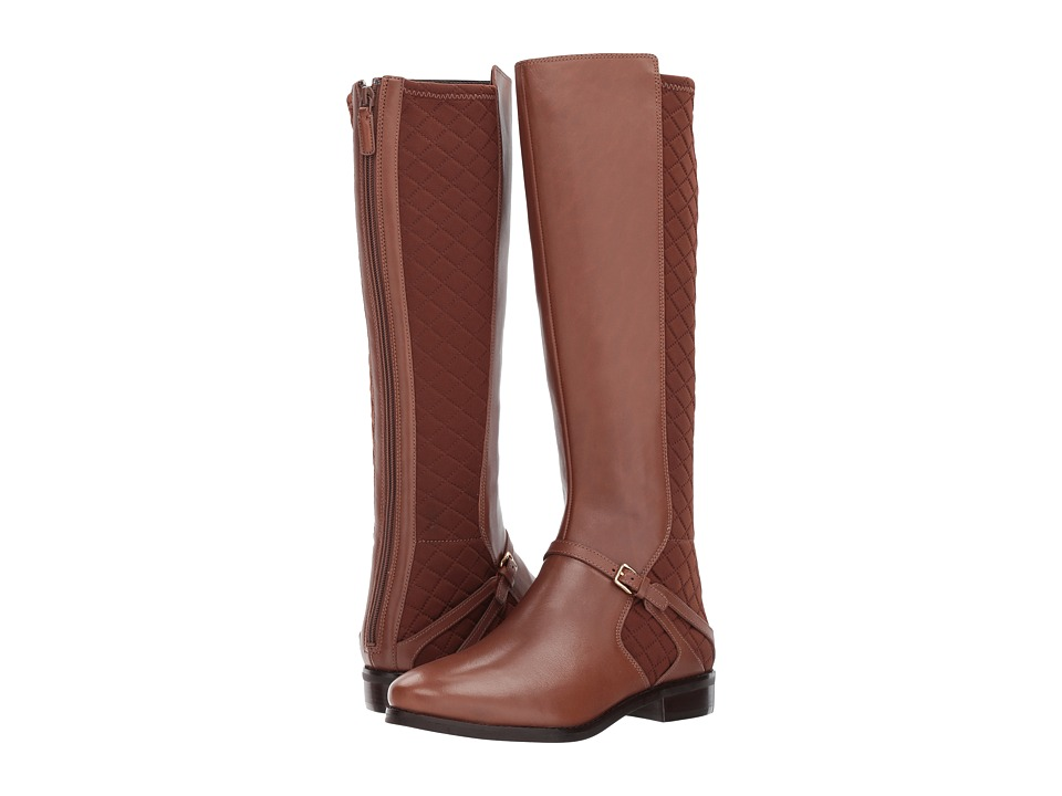 Cole Haan Imogene Boot II (Harvest Brown Leather/Harvest Brown Leather) Women