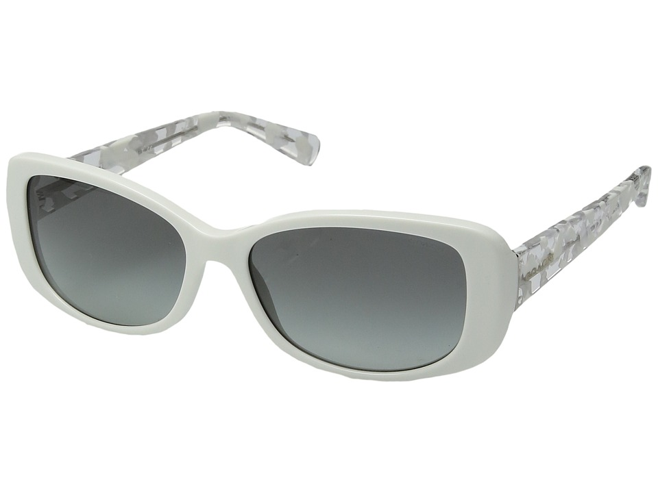 COACH - 0HC8168 (White) Fashion Sunglasses