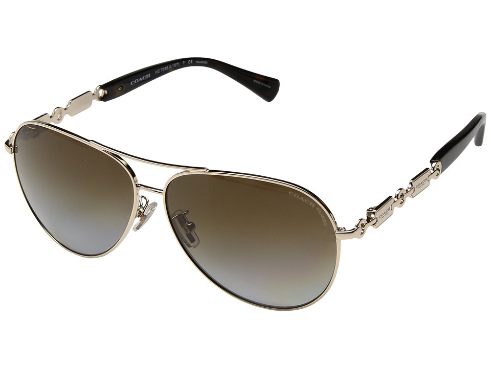 COACH - 0HC7048 (Grey) Fashion Sunglasses