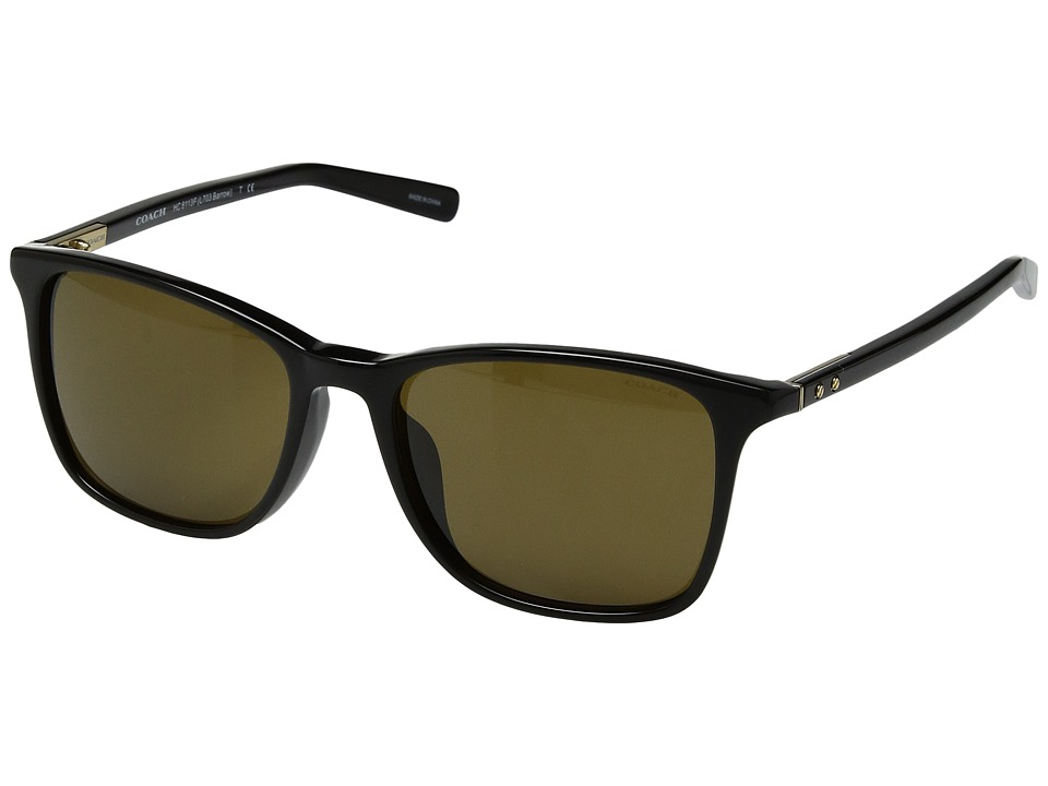 COACH - 0HC8113F (Brown) Fashion Sunglasses