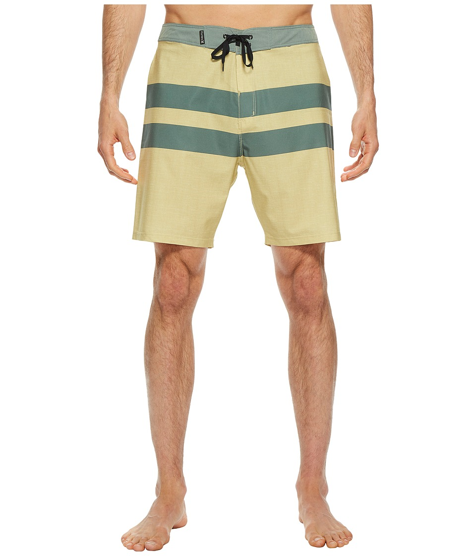 Hurley Phantom Blackball 18 Boardshorts (Buff Golf) Men