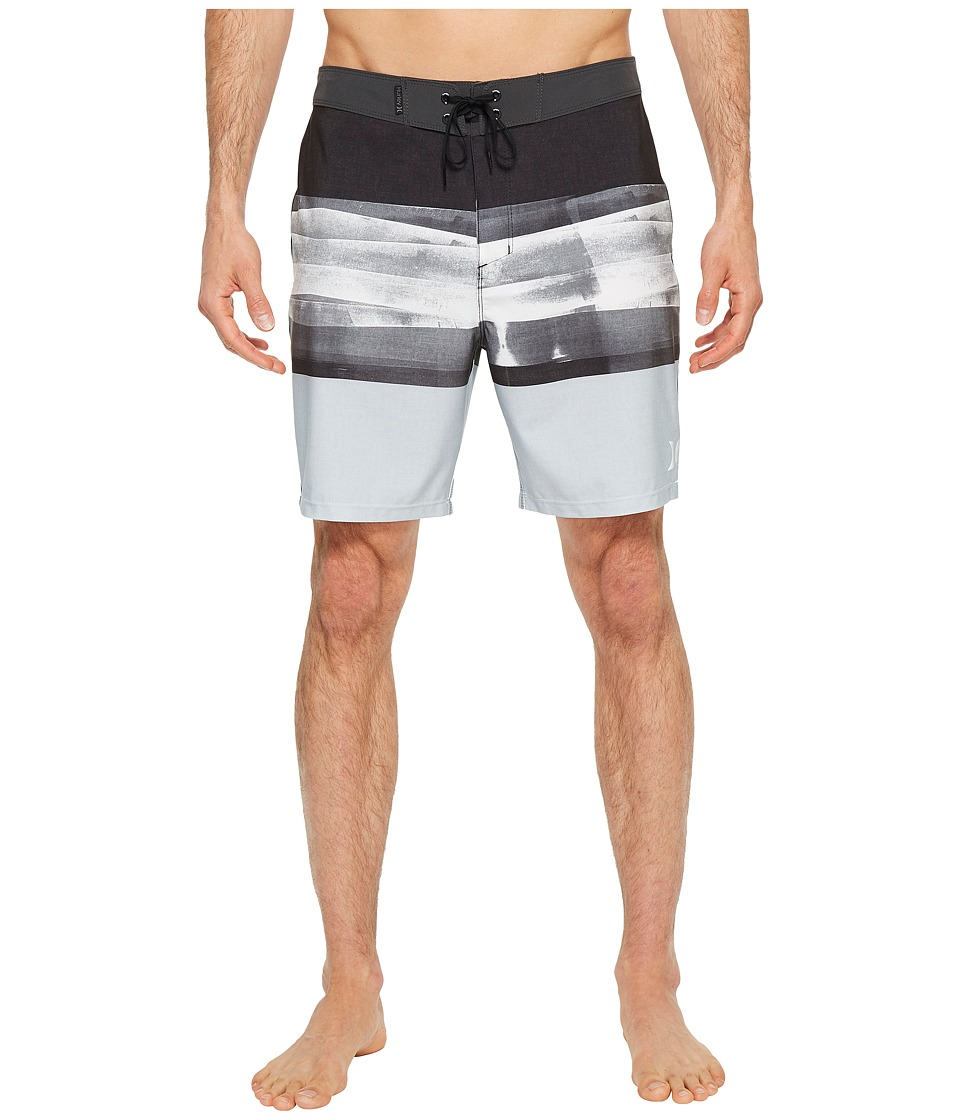 Hurley Phantom Roll Out 18 Boardshorts (Black) Men