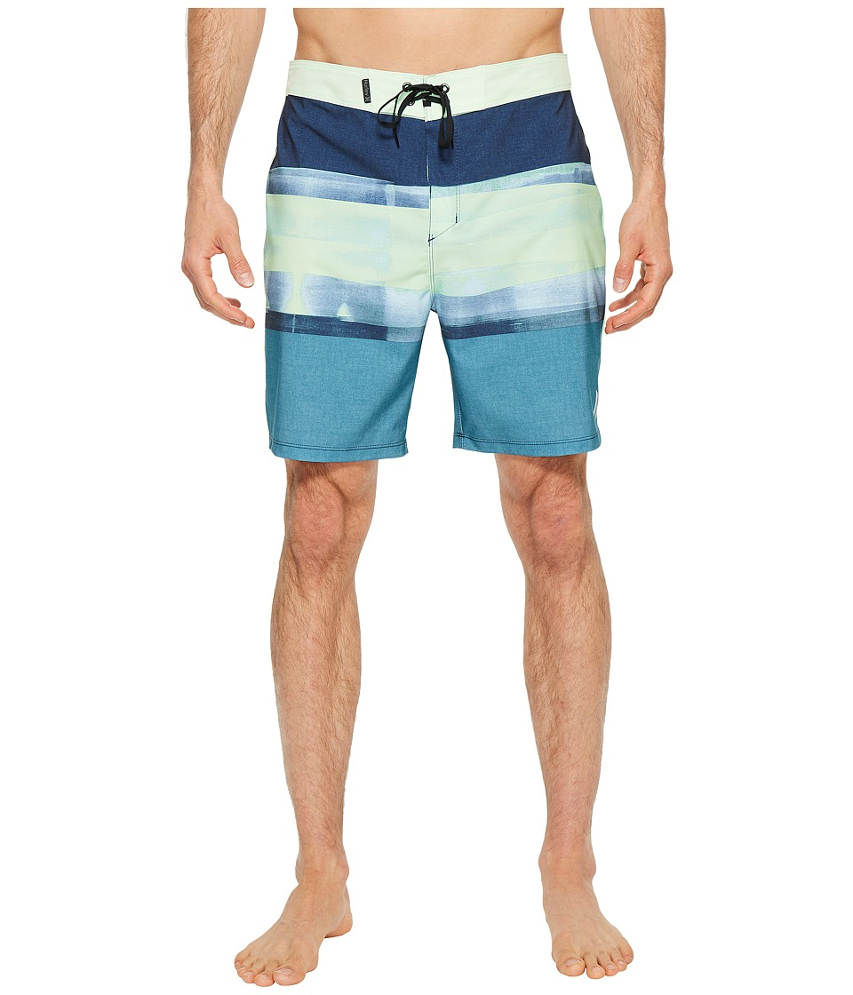 Hurley Phantom Roll Out 18 Boardshorts (Noise Aqua) Men