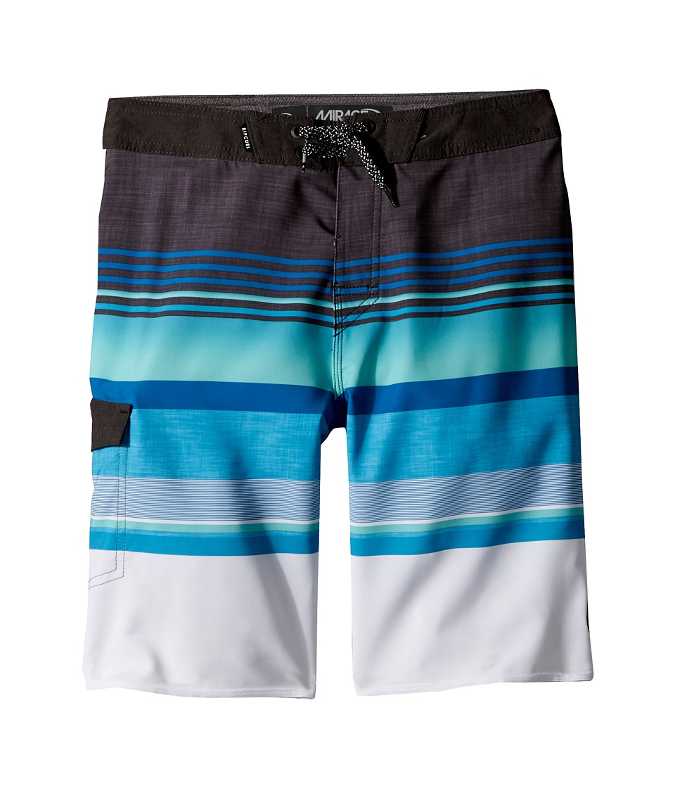 Rip Curl Kids Mirage Hype Boardshorts (Big Kids) (Blue) Boy